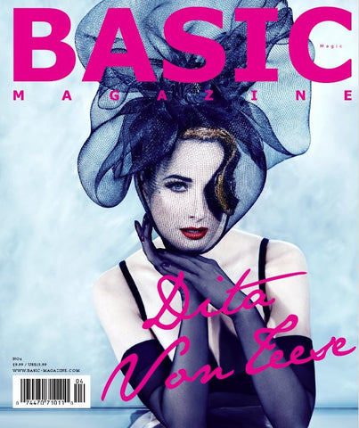 Basic Magazine Magic Issue Cover Page