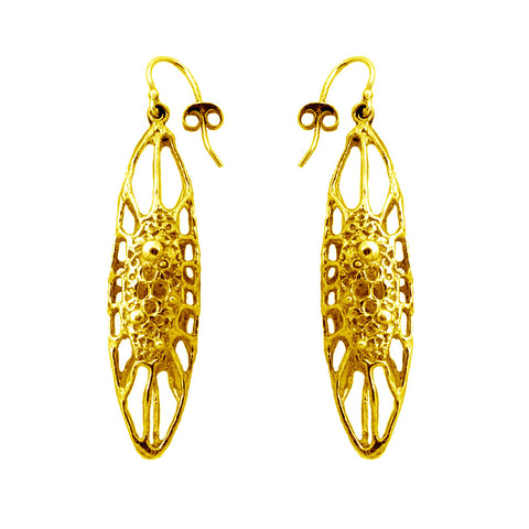 Long Cell Earring
