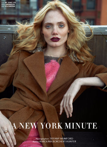 "Streets Magazine Exclusive Editorial ""A New York Minute"""