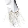 White Feather Necklace by Ayaka Nishi