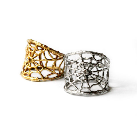 Branch Spider Web Ring