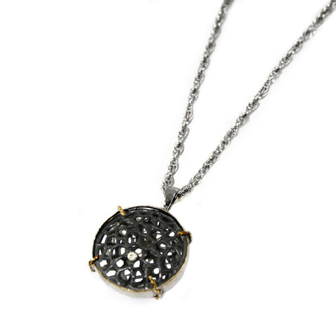 Cell Circle Necklace by Ayaka Nishi