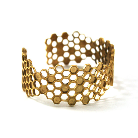 Detail Honeycomb Bracelet