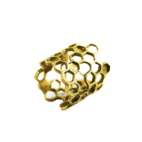 Long Honeycomb Ring