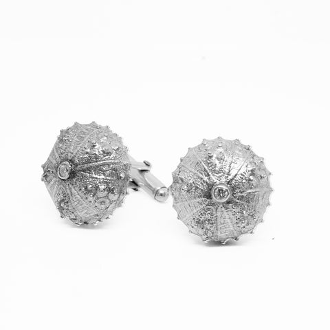 Sea Urchin Cuff Links