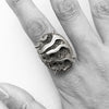 Pyritized Ammonite Ring
