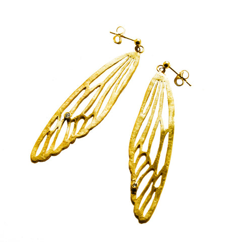 Insect Wing Earring