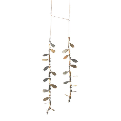 Branch and Petal Necklace