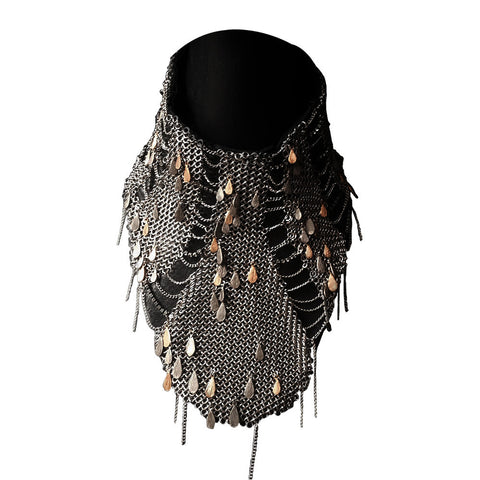 Mesh Fish Scale Necklace