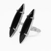 Double Onyx Bone Ring