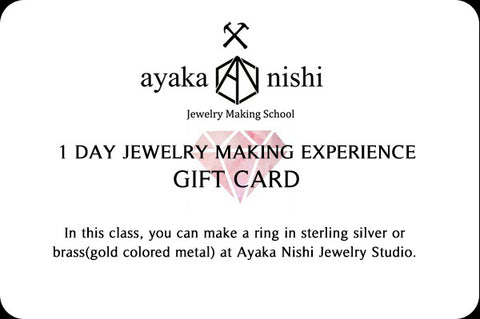1 Day Jewelry Making Class Gift Card