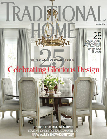 Traditional  Home Magazine October 2014 Cover
