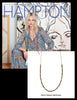 Hamptons Magazine Cover, featuring Ayaka Nishi's Bone Beads Necklace