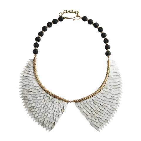 Fish Scale Collar Necklace