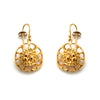 Small Cell Earring Gold by Ayaka Nishi