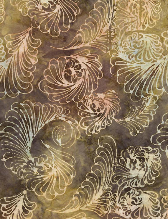 BATIK - TONGA FEATHERS Timeless Treasures