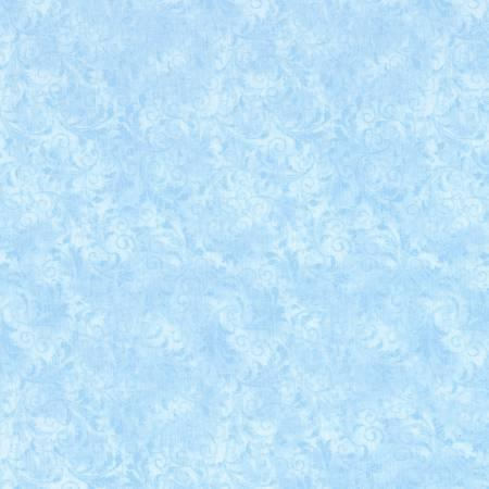 Tonal Filigree Echo Powder Blue-C5500 Timeless Treasures Cloud