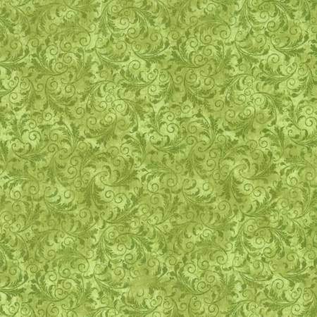 Tonal Filigree Echo -C5500 Timeless Treasures Fern