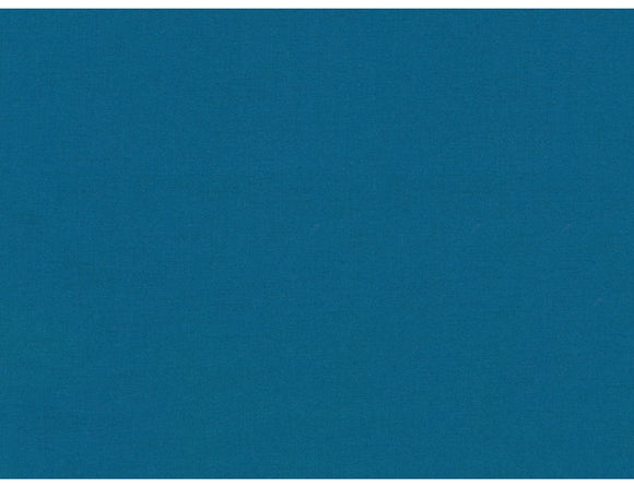 KONA COTTON SOLIDS - TEAL BLUE COLOR