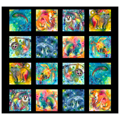 P&B Textiles Living Wild Animals 40