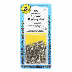 PINS Safety Pin Curved 1-1/2in Size 2 65ct