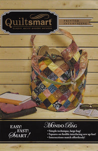 Quiltsmart Mondo Bag Pattern and Interfacing