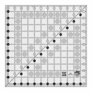 RULERS Creative Grids Quilt Ruler 12-1/2in Square