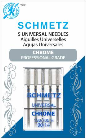 NEEDLES Chrome Universal Schmetz Needle 5 ct, Size 90/14