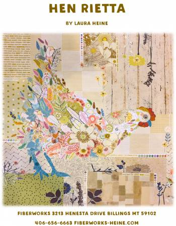 PATTERN Hen Rietta Collage # LHFWHEN