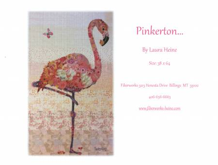 Pinkerton flamingo Collage # LHFWPINK