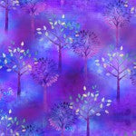 3 Wishes Color Splash Trees Purple