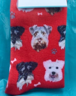three faces socks