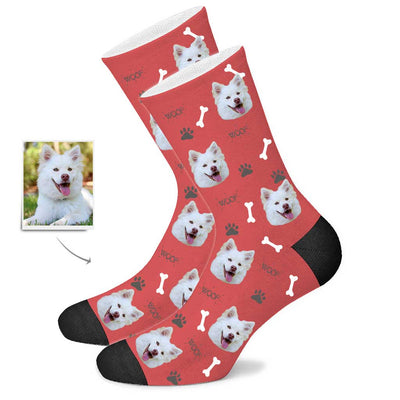 Custom Dog Face Socks