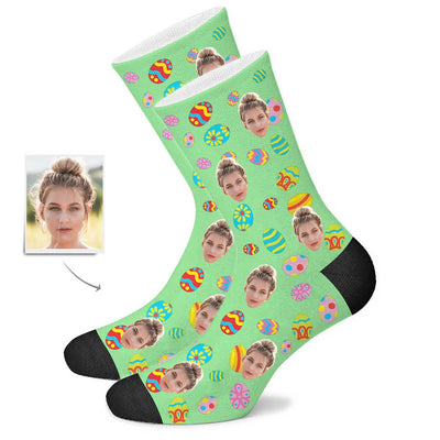 Custom Color Easter Egg Socks