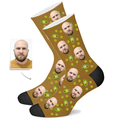 Custom Wiki Face Socks