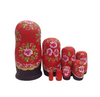 Painted 8 Pieces Matryoshka Nesting Dolls