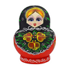 Painted Wooden Matryoshka Nesting Dolls 10 Pieces