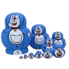 Doraemon Matryoshka Nesting Dolls 10 Pieces