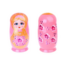 Pink Cutie Girl Matryoshka Nesting Dolls 8 Pieces