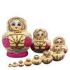 Traditional Russian Matryoshka Nesting Dolls 10 Pieces