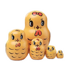Lovely Birds Matryoshka Nesting Dolls 5 Pieces