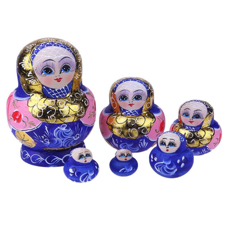 Golden Girls Matryoshka Nesting Dolls 6 Pieces