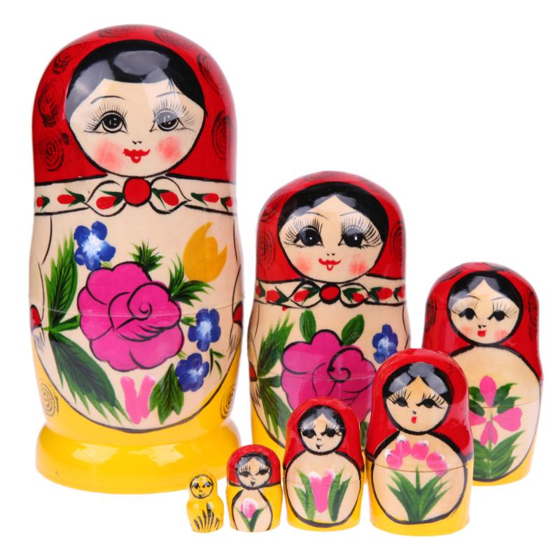 Russian Matryoshka Nesting Dolls 7 Pieces