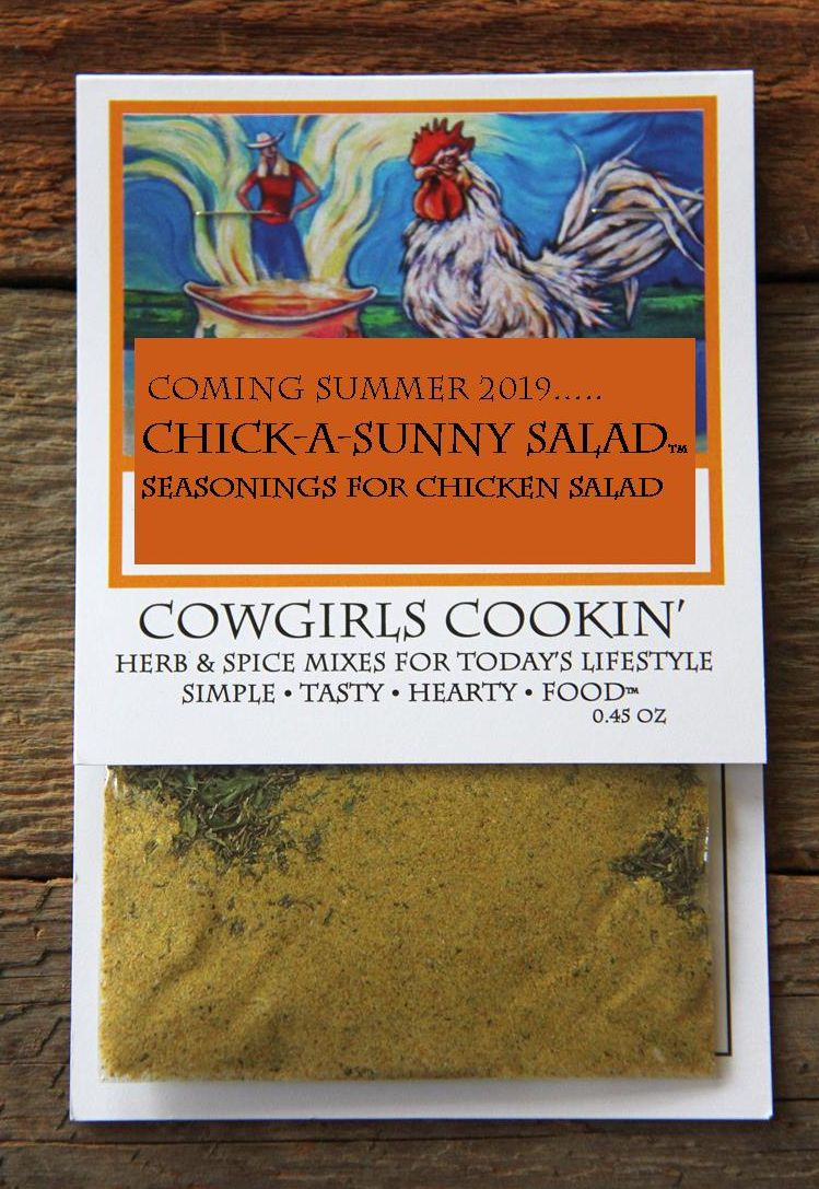 The Summer of 2020 New  Seasonings ~ Chick-A-Sunny Salad ~ Seasonings for Summer Chicken Salad