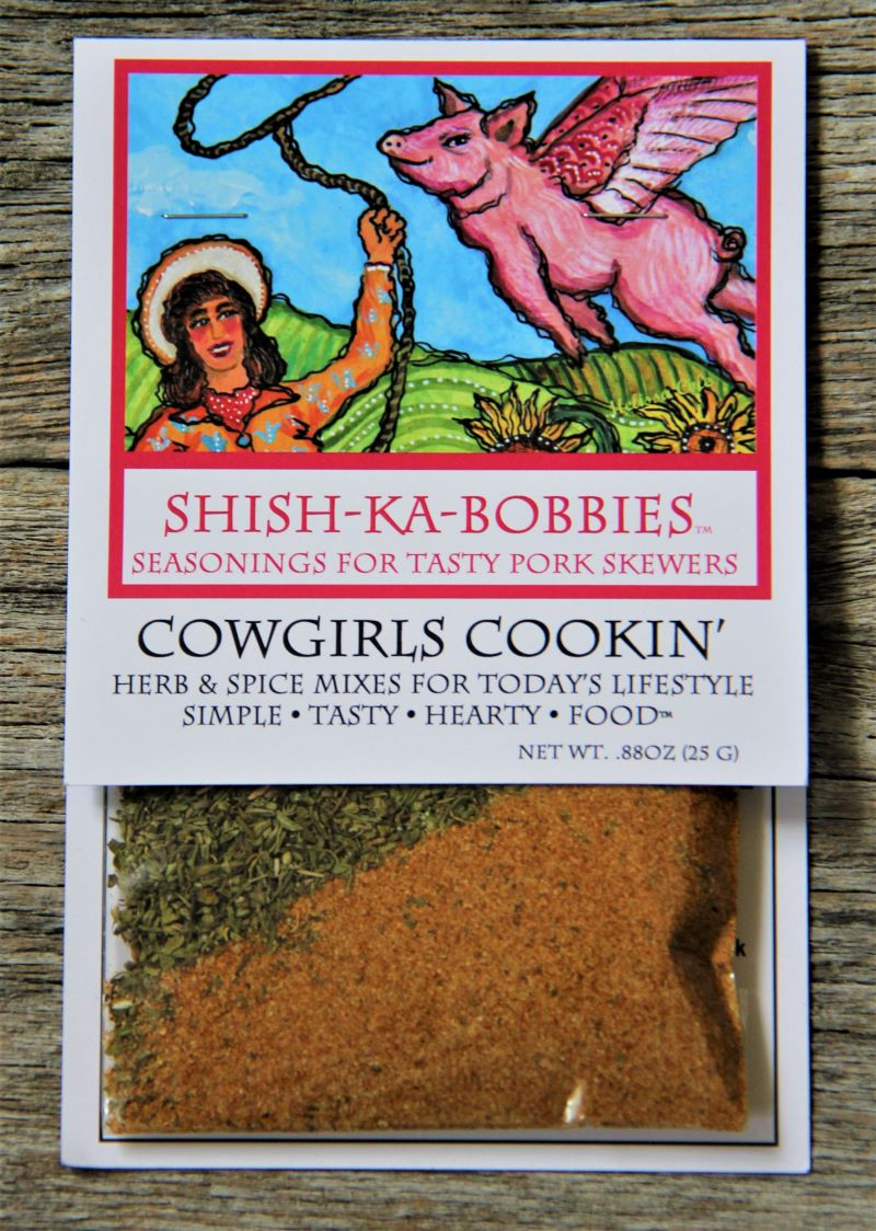 Shish Ka Bobbies ~ seasonings for pork skewers