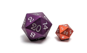 Purple 35mm Solid Core D20 Aluminium