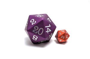 Purple 45mm Solid Core D20 Aluminium