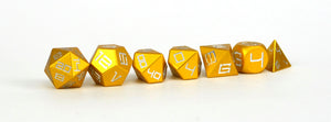 Yellow Aluminium Set of 7