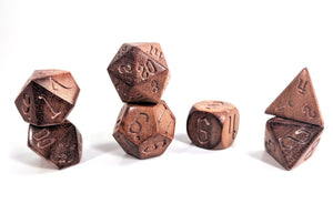 Burmese Padauk Wood Dice Set