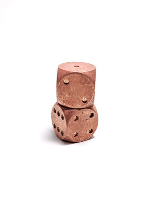 Copper Mini D6 Metal Dice
